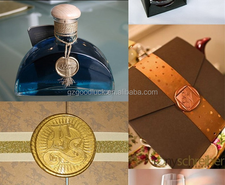 Guangzhou Goodluckstationery Offering Sealing wax Strips/ Beeswax Sealing Wax Stick with flower Pattern