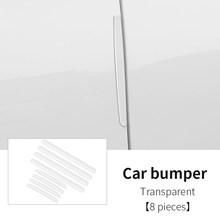 5D углеродное волокно нано клей защитная Автомобильная наклейка пленка край двери защитная пленка для двери багажника автомобиля подоконни...(Китай)