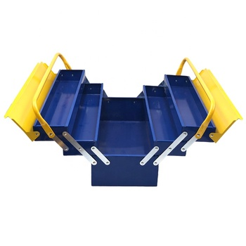 5 bucket metal tool srorage box