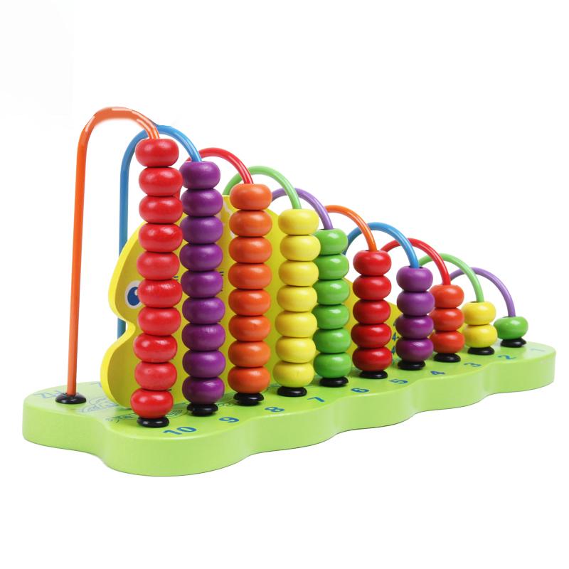 Produsen Penawaran Khusus Kayu Menghitung Abacus Mainan Pendidikan Grosir Murah Kayu Matematika Manipulatif Mainan Pendidikan