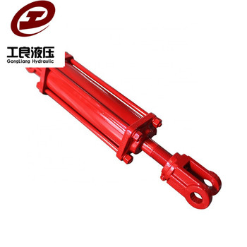 GONGLIANG OEM telescopic dump truck lift hydraulic cylinder by Dandong factory Orders Are Welcome