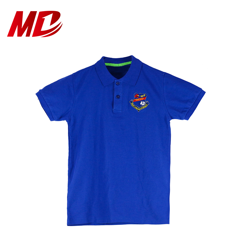England Style School Uniform Cheap Polo Shirt Design Polo Shirt with School Logo