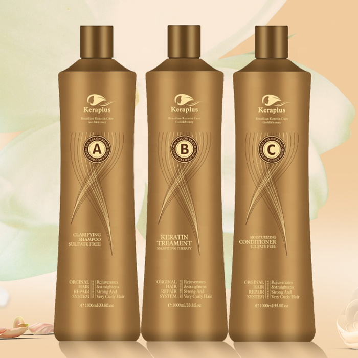 Free samples free formaldehyde crystal collagen hair treatment Brazilian straightening hair protein keratin treatment