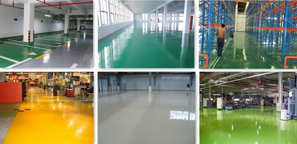Online shopping hot sale epoxy floor paint,epoxy resin flooring coating with low price list epoxy floor paint
