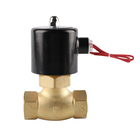 "15"" 1/2in 3/4in 1/4in Heat resistant high pressure internal thread brass Steam Solenoid Valves"