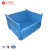 Collapsible heavy duty metal container box pallet for industry warehouse use