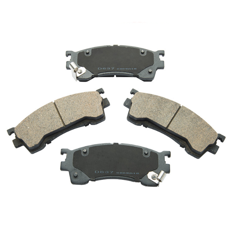 Hot Popular Processing Custom Ceramic Material High Performance Car Front Break Pads