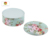 Custom Food Grade Round Shape Biscuit/Cake/Candy/Cookie Storage can Tin Box