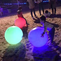 Factory Manufacturer Custom Giant Inflatable Led Beach Ball