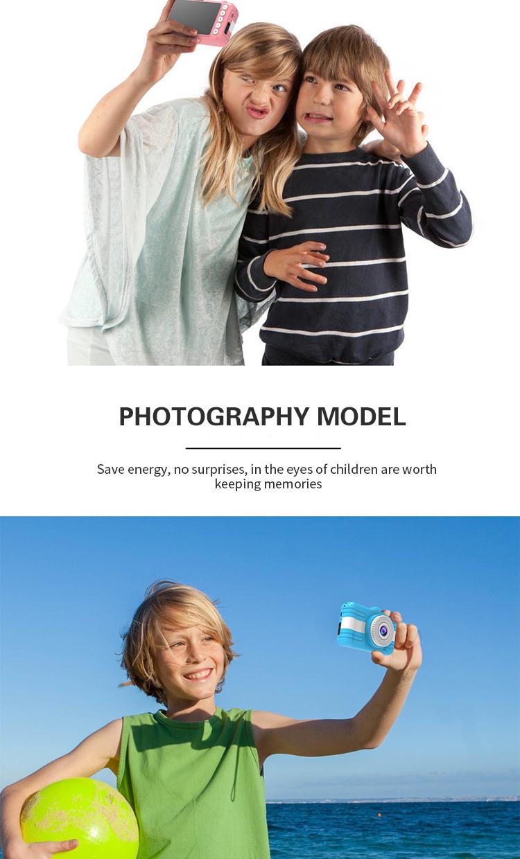 Game Function Dual Lens 3.5 inch LCD Screen Mini HD Kids Digital Camera Video Camera For Children