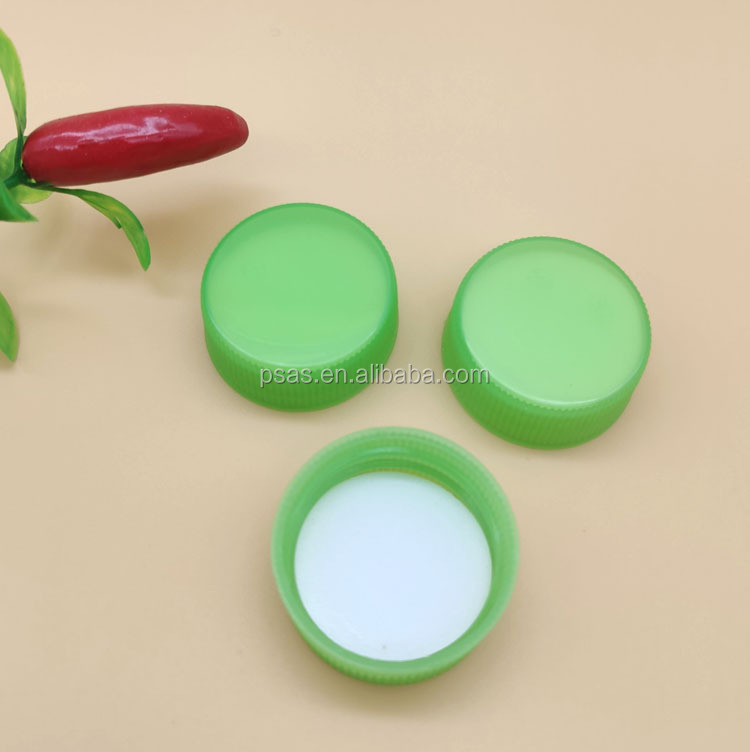 Plastic mineral water bottle pet preform caps 28mm cup Screw lid cap
