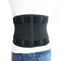 New Breathable Lower Back Brace Support Lumbar Support Waist Compression Back brace for Back Pain Relief
