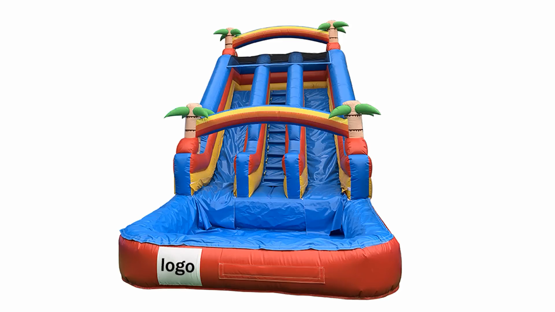 Commercial outdoor inflatable water slides kids for inflatable theme park