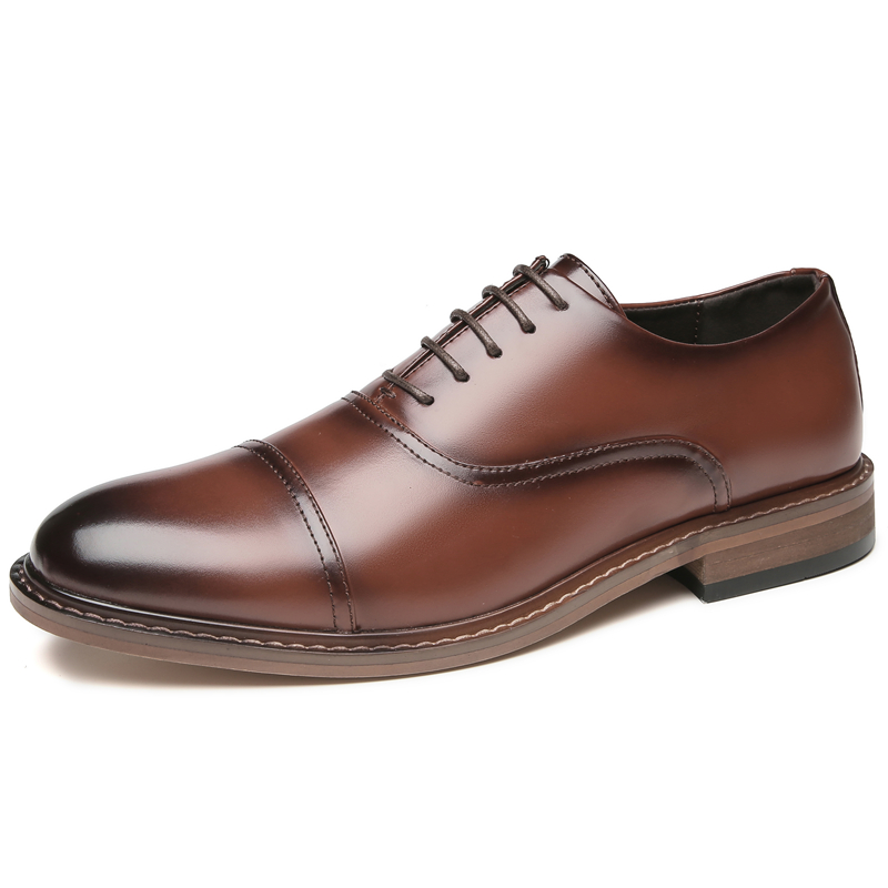 Business Formal Dress Shoes Men Leather breathable casual shoes casual leather shoes