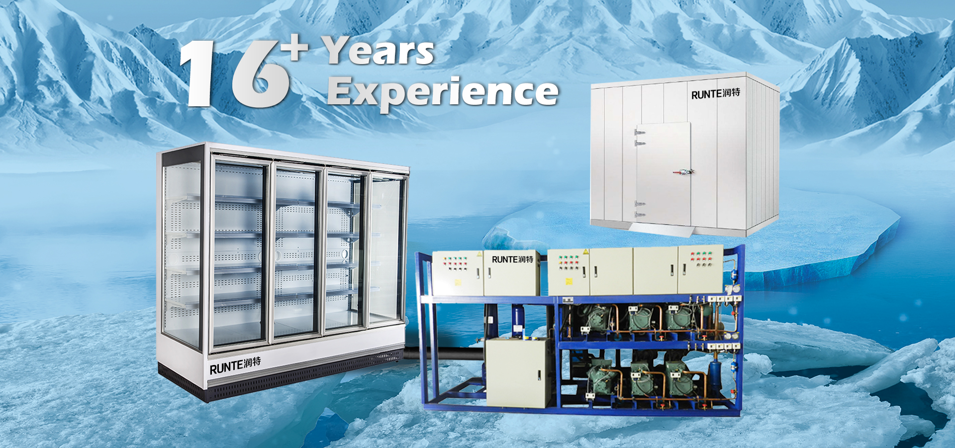 Negative positive freezing chamber cold storage room for ice cream