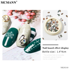Nail Sticker Flower Nails Nail Art Sequins MCMANN 3D Christmas Nail Art Sticker For Women Jewelry Gift Accessories Letter Flower Nails Arts Sequin Decoration Wholesale