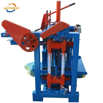 The New Generation and Simple Operate Manual Vibrating Concrete Brick Making Machine