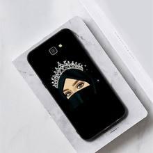 Yinuoda мультяшный хиджаб Эстетическая мусульманская девушка ilham malah PhoneCase для samsung Galaxy J7 J6 J8 J4 J4Plus J7 DUO J7NEO J2 J5 Prime(Китай)