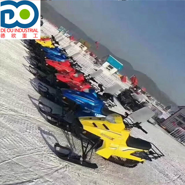Tao Snowfox Do Motor 110cc China Snowmobile Adulto snowmobile neve scooter de gasolina chinês para a venda