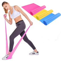 Strength Band Exercise Gym Resistance Bands Latex Fitness Bands Elastic Exercise Equipment for Pilates