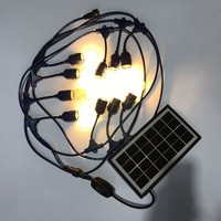 wholesale decorative garden panel bulb indoor solar lights for home