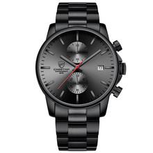 Часы для мужчин водонепроницаемые спортивные мужские часы с гепардом Топ Бренд роскошные часы мужские деловые кварцевые наручные часы Relogio...(Китай)