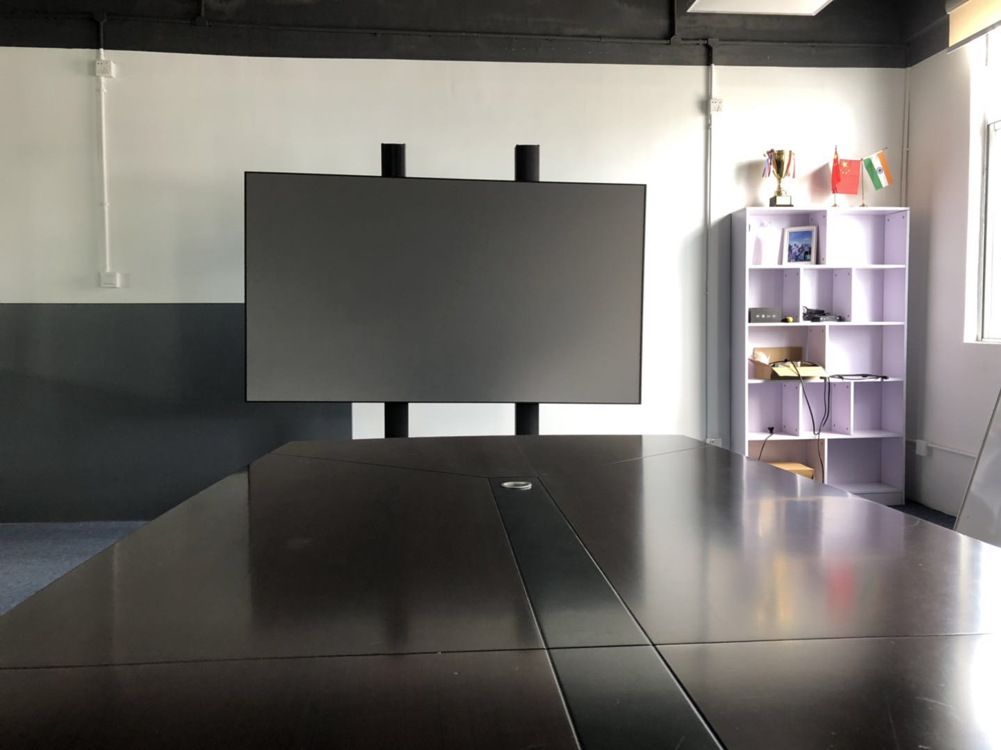 "FUTURE Screen 100"" 120"" PET Crystal projection Screen UST ALR with XGIMI Lune 4K large UHD Laser projector"