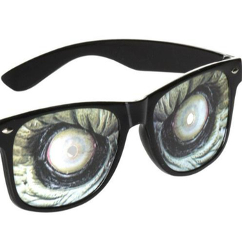 Hot-selling Scary Creature Monster Eyes Glasses Halloween Fancy Dress Party Accessory KR316