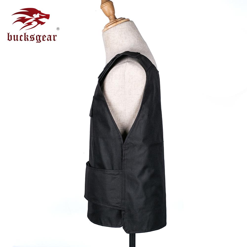 Bucksgear Wholesale Custom Logo Military Bulletproof Armor Vest Tactical Body Armour Ballistic Stab Bullet Proof Vest