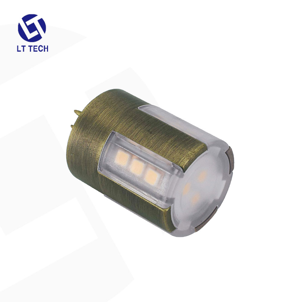 Die-Cast Brass LT104 <strong>3W</strong> low voltage <strong>12V</strong> IP65 waterproof LED <strong>bulb</strong> G4 last in outdoor landscape lighting path area light fixtures