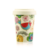 New products recommend coffee cup bamboo fiber dishwasher safe with customized design