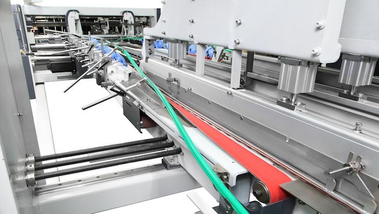 Fabrik Direkt Verkäufe karton falten maschine box kleben
