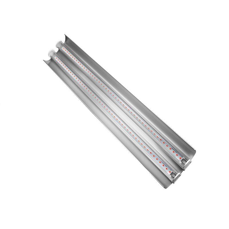 2020 New 50cm Full spectrum double tube led plant light 100w indoor plant fill light 85v-265v led strip growth light