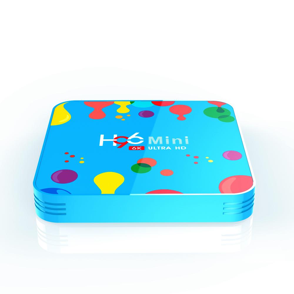 H96 Mini H6 Quad Core 64-bit Smart android TV Box 4+32GB фото