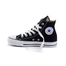 Мужская обувь для скейтборда Converse All-star, Классическая парусиновая обувь унисекс с высоким берцем, мужские и женские кроссовки, удобный и про...(Китай)