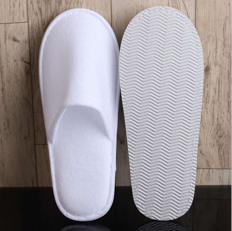 disposable polar fleece hotel slippers for hotels