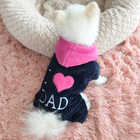 Pet clothing dog clothes fashion costume dog clothes sewing patterns cheap dog costume pet clothes warm coats