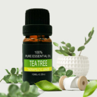 100% Pure Therapeutic Grade Tea Tree Essential Oil for Aromatherapy Disinfection