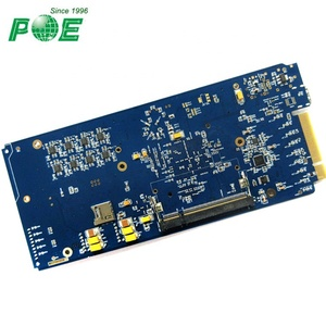 Multilayer PCB Assembly with Components Soldering