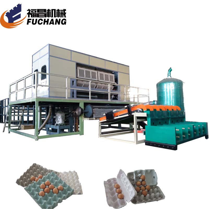 Quail egg tray packing machine <strong>chicken</strong> egg carton <strong>producing</strong> machine paper shoes filler production line