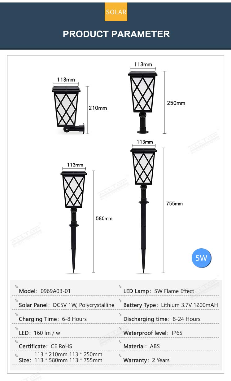 ALLTOP modern garden lights-7