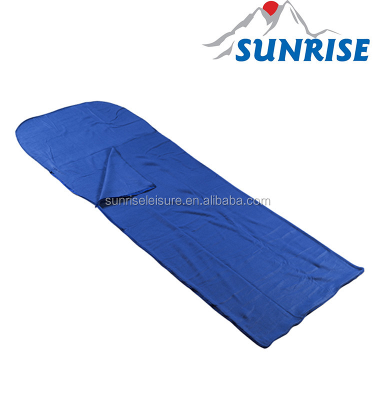 67110# fleece mummy sleeping bag liner