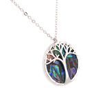 Abalone Jewelry Abalone Necklace Tree Of Life New Design Abalone Shell Necklace Hot Jewelry Round Tree Of Life Necklace