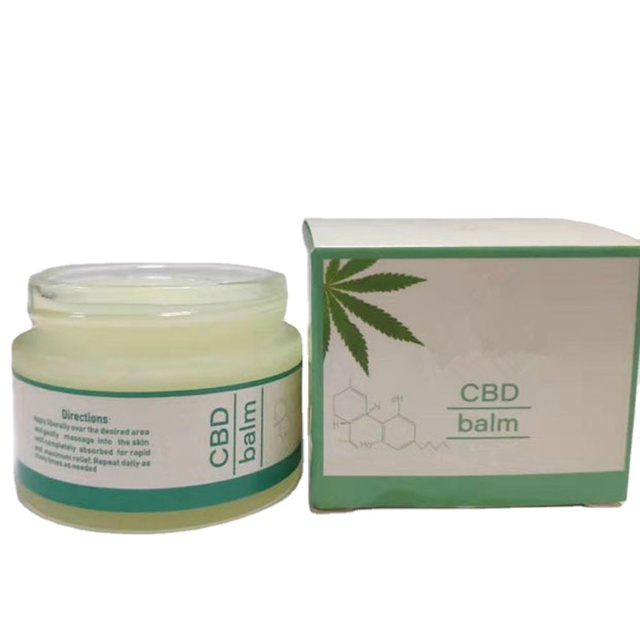 OEM/ODM Private Label Full Spectrum CBD Pain Balm 100% Pure Natural For Pain Relieve
