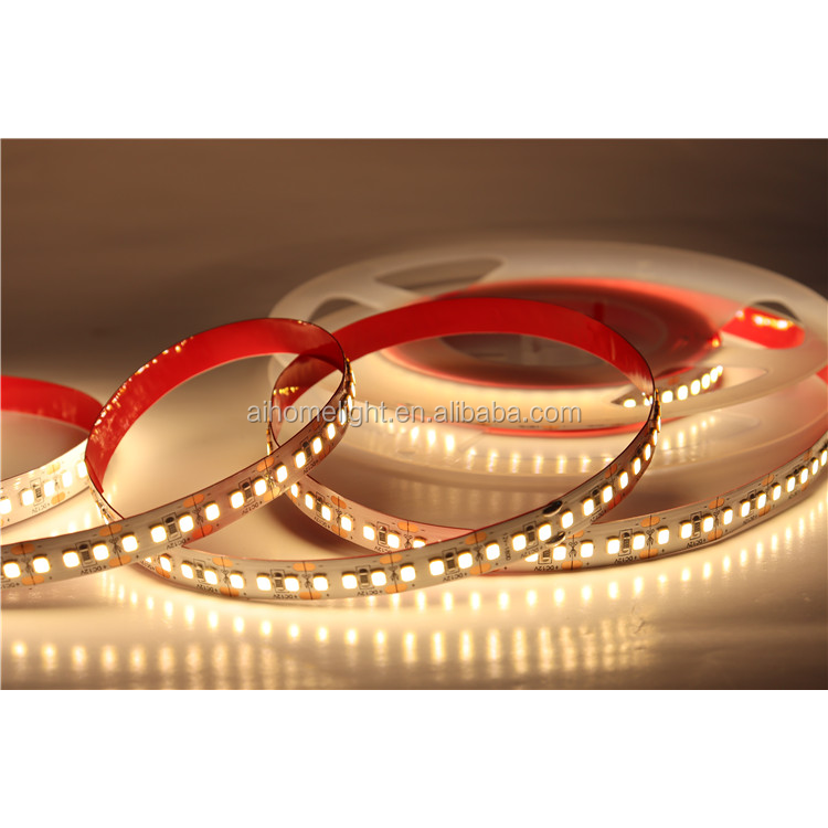 Top Quality Promotional Custom Color Flexible Led Strip Light Water Proof 180Led/M Dc 12V Or 24V