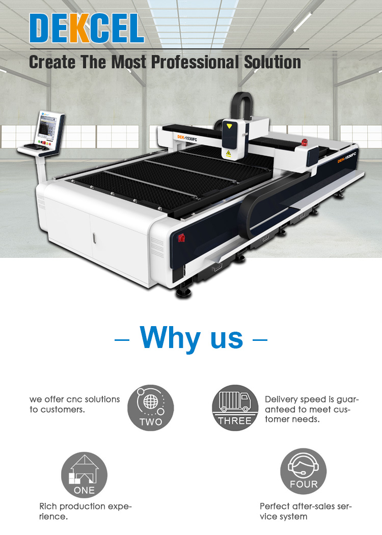 Industrial metal fiber laser cutting machine