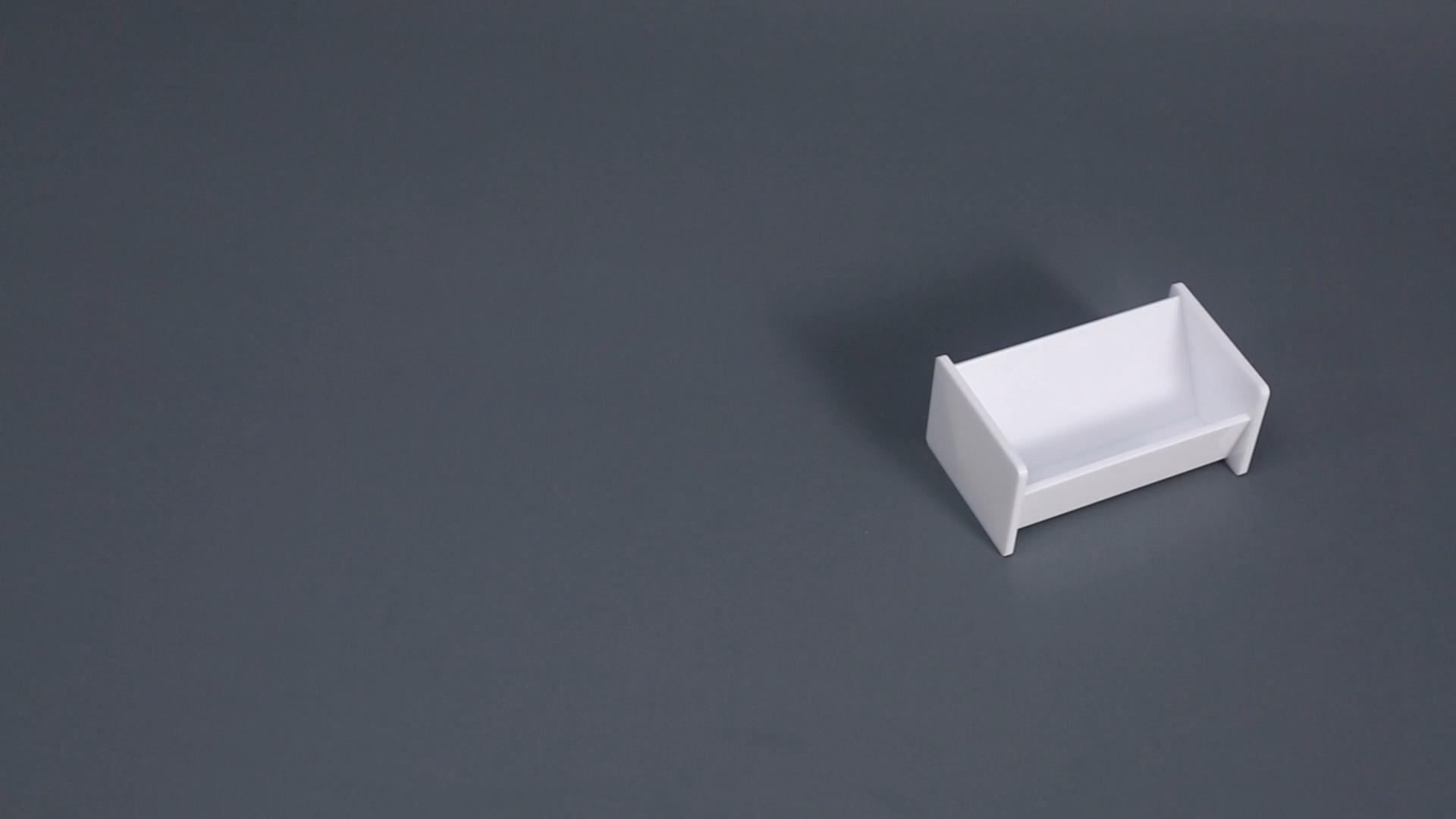 Wholesale Plastic Desktop Business Card Holder Note Holder for desk