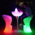illuminated outdoor furniture rotomolded moRohsd plastic furniture led lighted bar high chairs and tables stools sofa set