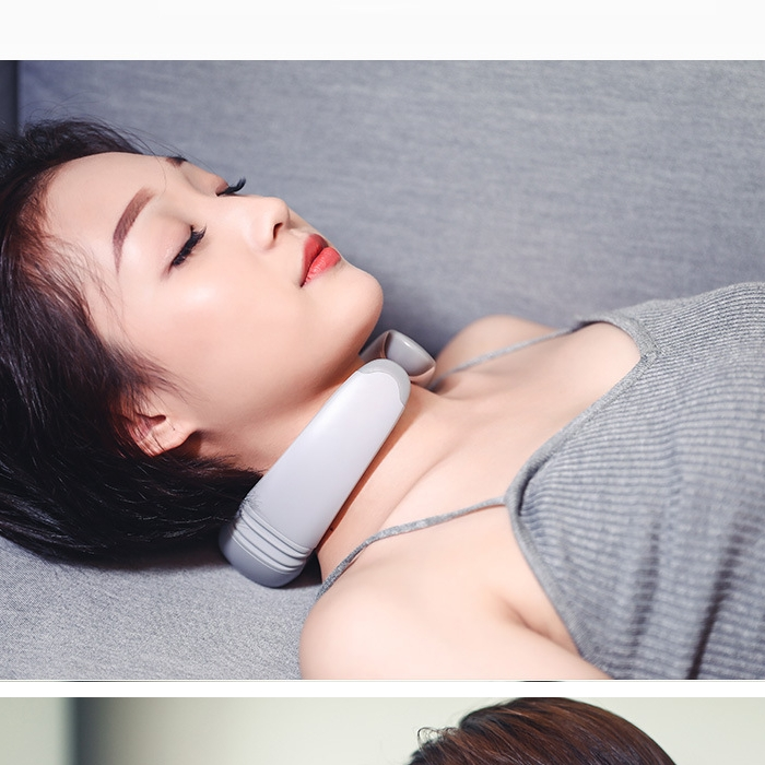 2019 Good Selling Rechargeable Wireless Electric Neck Massager