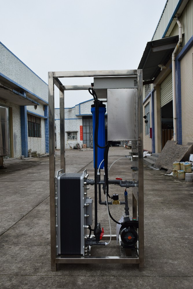 product-500 liters per hour industrial electro deionization water system-Ocpuritech-img-1